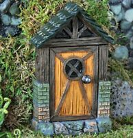 Fiddlehead Cottage Fairy Door for Fairy Gardens: Indoor or Outdoor use fairy doo