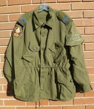 CF MP Lightweight Combat Coat OD Size 7050 X-Large with Patch, Ranks & Armband