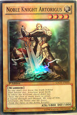YUGIOH NOBLE KNIGHT ARTORIGUS GAOV-EN000 1st EDITION SUPER RARE