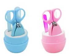 Baby Nail Clipper Set Manicure Pedicure Kit Children Nail Care (Ships from US)