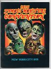 FAMOUS MONSTERS  CONVENTION BOOK  NEW YORK  1975  SHARP COPY
