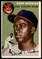 1954 Topps Set Break Dave Hoskins Cleveland Indians #81