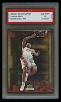 """2003 LEBRON JAMES """"SLAM DUNK"""" UPPER DECK UD 1ST GRADED 10 ROOKIE CARD RC LAKERS"""