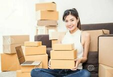 75 Different Size Mixed Shipping Packing Mailing Moving Boxes Corrugated Carton