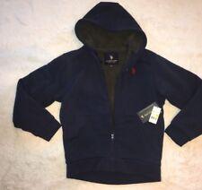 US Polo Assn Fur Hoodie Size M