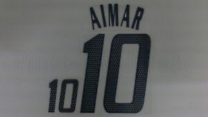 PABLO AIMAR #10 Argentina Home Confederations Cup 2005 Name Set