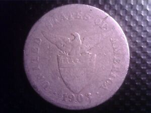 PHILIPPINES   5  CENTAVOS  1903        SEP28