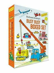 Richard Scarry's Busy Busy Boxed Set #7901