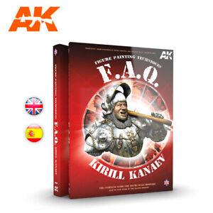 AK FAQ Scale Figures (English) Book NEW