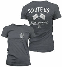 Officially Licensed Route 66 Los Angeles Women T-Shirt S-XXL Sizes