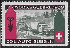 "Switzerland ""Soldier"" stamp: Verpflegung/ Food, VER #3: Col.Auto.Subs.1 - sw576"