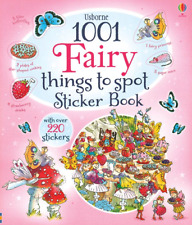 Usborne 1001 Fairy Things to Spot Sticker Book by Gillian Doherty (Paperback)