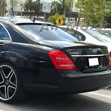 Painted Mercedes Benz W221 L Type Roof + A Trunk Spoiler Wing Choose Color