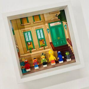 Display Frame for Lego Ideas 123 Sesame Street minifigures 21324 no figures 27cm