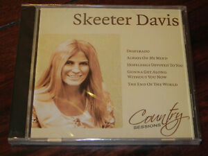 Musik-CD - Skeeter Davis / Country Sessions (Weton-Wesgram - CS006)