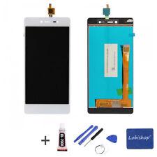 Bloc Ecran LCD Vitre tactile BLANC pour Wiko Fever 4G / Fever SE (faTVA) +outils
