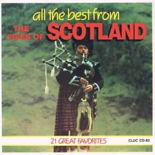 ALL THE BEST FROM THE PIPES OF SCOTLAND - 21 SONG MUSIC CD - LIKE NEW - H178