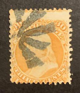 TDStamps: US Stamps Scott#71 30c Franklin Used