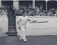 SIR FREDDIE TRUEMAN Signed 10x8 Photo ENGLAND & YORKSHIRE CRICKET Legend COA