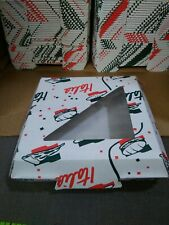 "250 Italia Personal Pizza Take-Out Boxes approx 8"" x 8"" x 2 1/2 food storage"