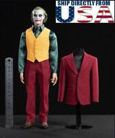 1/6 DC Joker 2019 Arthur Costume Suit Set For DX01 DX11 Hot Toys DB002 BACKORDER