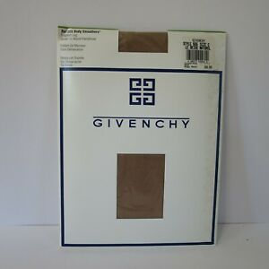 New Vintage Givenchy Body Smoothers Support Leg Pantyhose Sz C Le Beige Bare 555