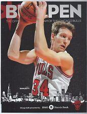 2013-14 Chicago Bulls Bullpen Program Mike Dunleavy cover Jimmy Butler Poster