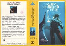 NATIONAL GEOGRAPHIC VIDEO Squali! (1982) VHS 1ª EDIZIONE