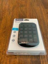 Targus Wireless Numeric Keypad Model AKP11US Black Sealed New