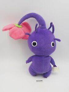 "Pikmin Purple Flower B2608 Sanei 2004 Plush 6"" Stuffed Toy Doll Japan Nintendo"
