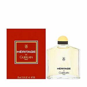 Heritage Guerlain 2.5 oz / 75 ml Eau De Toilette Splash
