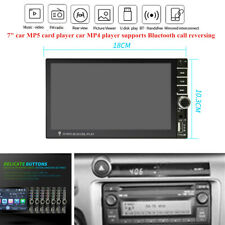 "7""Universal Touch Screen MP5 Card Player Car FM USB AUX Bluetooth Call Reversing"