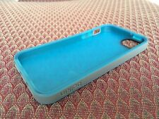 Soft Silica Gel Silicone Cover Belkin Case For Apple iPhone 5 5S New Blue/Gray