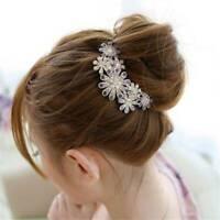 Womens Hair Clip Crystal Rhinestone Casual Hair Pin Barrette Hair Accessories LP