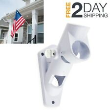 American Flagpole Bracket Wall Mount Us Flag Pole Holder Usa Garden House Flags