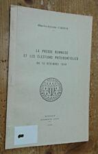 La Presse rennaise et les élections présidentielles du 10 décembre 1848