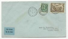 Canada Scott #C1 #163 on Cover August 3, 1932 Air Mail to Toledo, Ohio