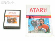 Atari Retro Game E.T. Extra Terrestrial w/ Original Manual Game Instructions