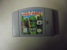 "Nintendo Game Cartridge ARMY MEN ""SARGE""D HEROES 3DO"