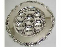 Judaica Silver Plated Passover Seder Plate by Legacy Judaica