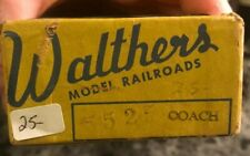Walther's HO #5525 Coach Car VINTAGE- NEW IN BOX