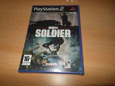 WWII: SOLDADO GUERRA MUNDIAL 2 PS2 PLAYSTATION 2 PAL Nuevo y Sellado