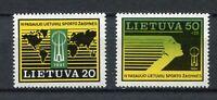 S11914) Lietuva Lithuania MNH 1991, Sport Games 2v