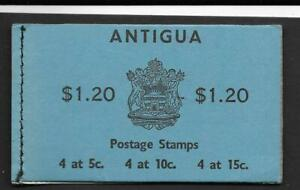 ANTIGUA, 1968 $1.20 BOOKLET SG SB1 MNH, COMPLETE