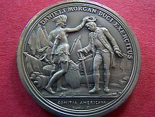 General Daniel Morgan Pewter Tribute Medal (America's First Medals Series)