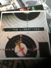 "THE LIBERTINES What A Waster 7"" Black Vinyl Picture Sleeve MINT Pete Doherty"