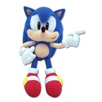 """Sonic The Hedgehog - Classic Sonic Soft Toy Plush 10"""" - 2nd Release (GE7088)"""
