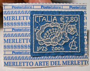FRANCOBOLLO ITALIA € 2,80 - ARTE DEL MERLETTO