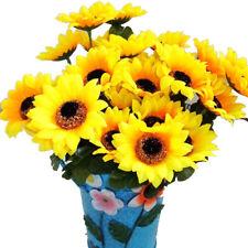 7Heads Artificial Sunflower Plant Flowers Wedding Home Decoration