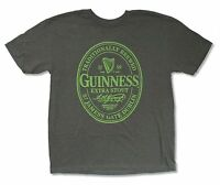 """GUINNESS """"EXTRA STOUT"""" HEATHER GREY T-SHIRT NEW OFFICIAL ADULT"""